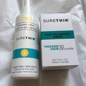 Other - SureThik Hair Thickening Fibers & Holding Spray